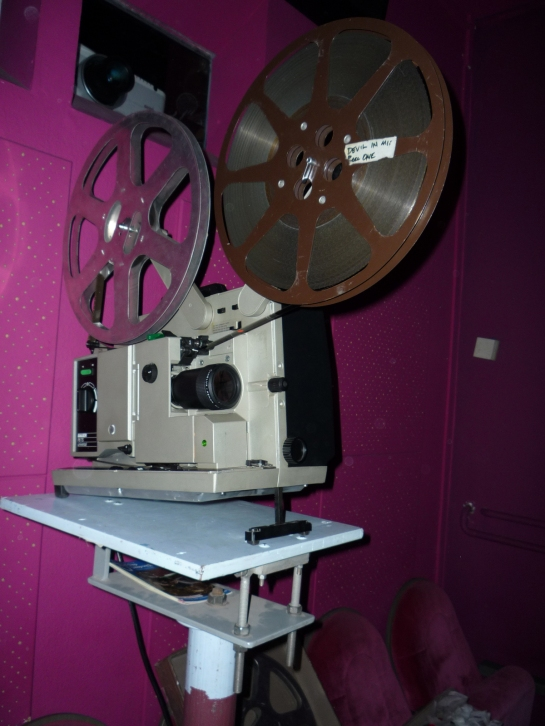 Projector. 7. Porn Film Festival Berlin. All right reserved by Katja Avant Hard