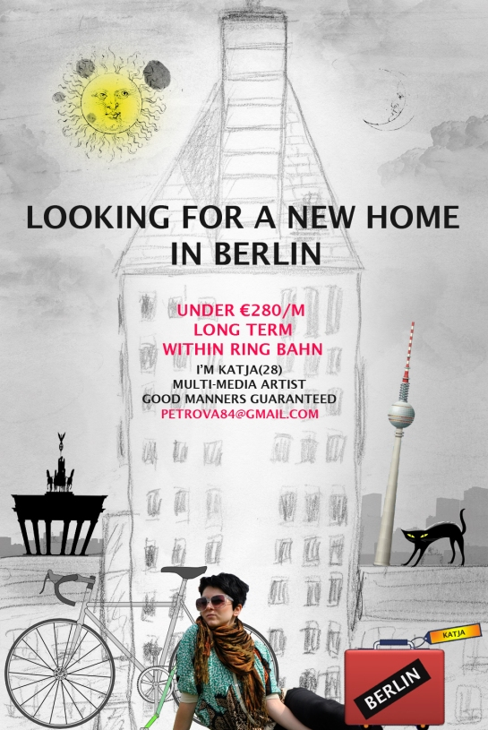 Looking for a room in Berlin from February 2013