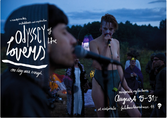 Presented by Mindpirates. ODYSSEY OF THE LOVERS firedance