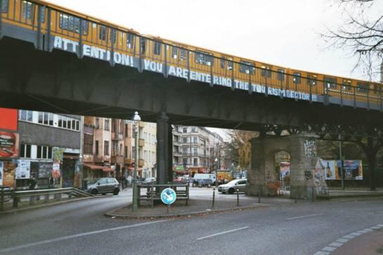 Oberbaumbrücke.