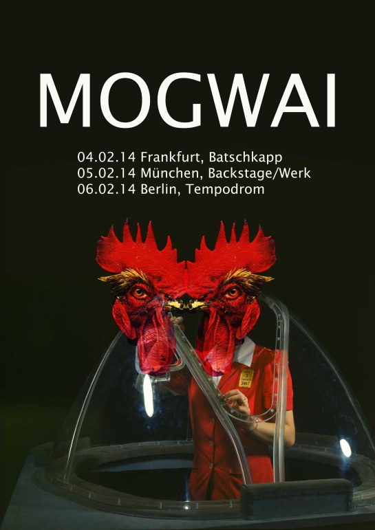 Mogwai poster. All rights reserved by Katja Avant-Hard.
