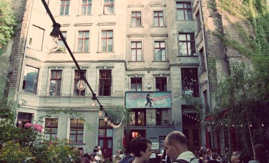 Clarchens Ball House Berlin. All rights reserved by Katja Avant-Hard